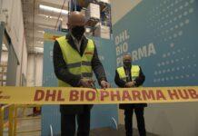 DHL Bio Pharma Hub_taglio del nastro